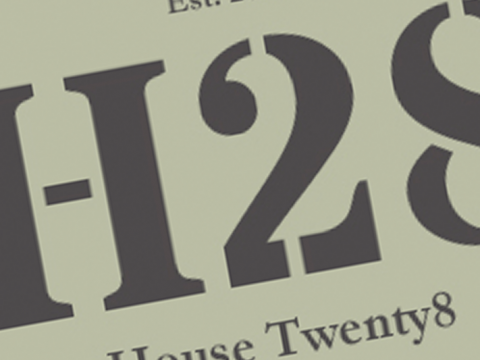 Housetwenty8 Logo design
